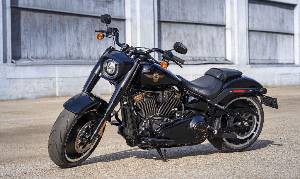 FOTOS Harley Davidson CVO Road Glide+ Fat Boy 30 Aniversario 2020