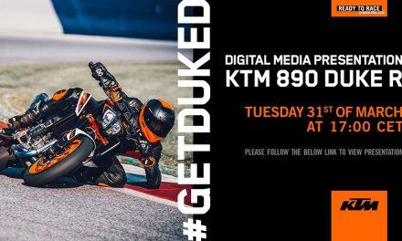 ¿Quieres estar HOY MISMO en la presentación de la KTM 890 DUKE R?