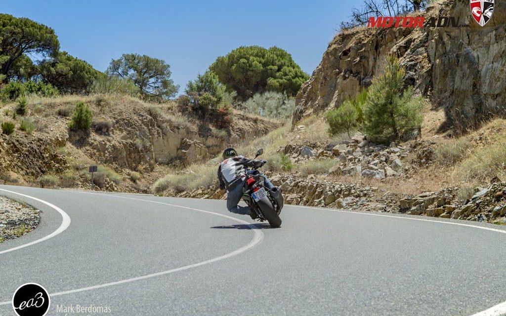 Fotos prueba Kawasaki Z H2 2020