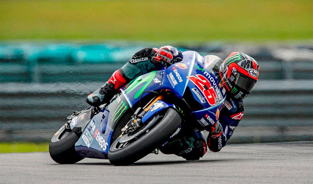 Yamaha MotoGP: Rossi y Viñales en Sepang. Maverick, el más rápido
