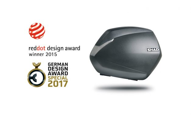 Shad gana el GERMAN DESIGN AWARD 2017por su maleta de moto SH36