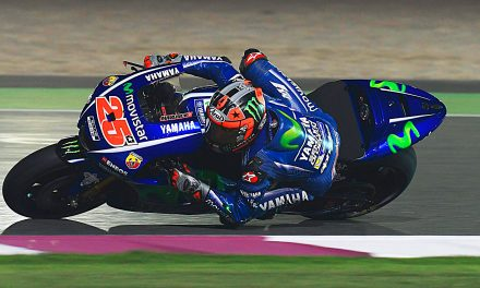 MotoGP fin de pretemporada . Maverick arrasa.