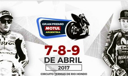 Horario MotoGP Argentina 2017. Circuito Termas de Rio Hondo.