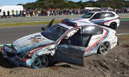 GP JEREZ 2017: EL SAFETY CAR SE ESTRELLA EN LA VUELTA DE RECONOCIMIENTO ¡CONDUCIDO POR UN CAMPEON MUNDIAL  DE 500!