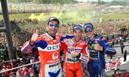 MOTOGP ITALIA 2017: DUCATI BRILLA. ¡MUCHO!