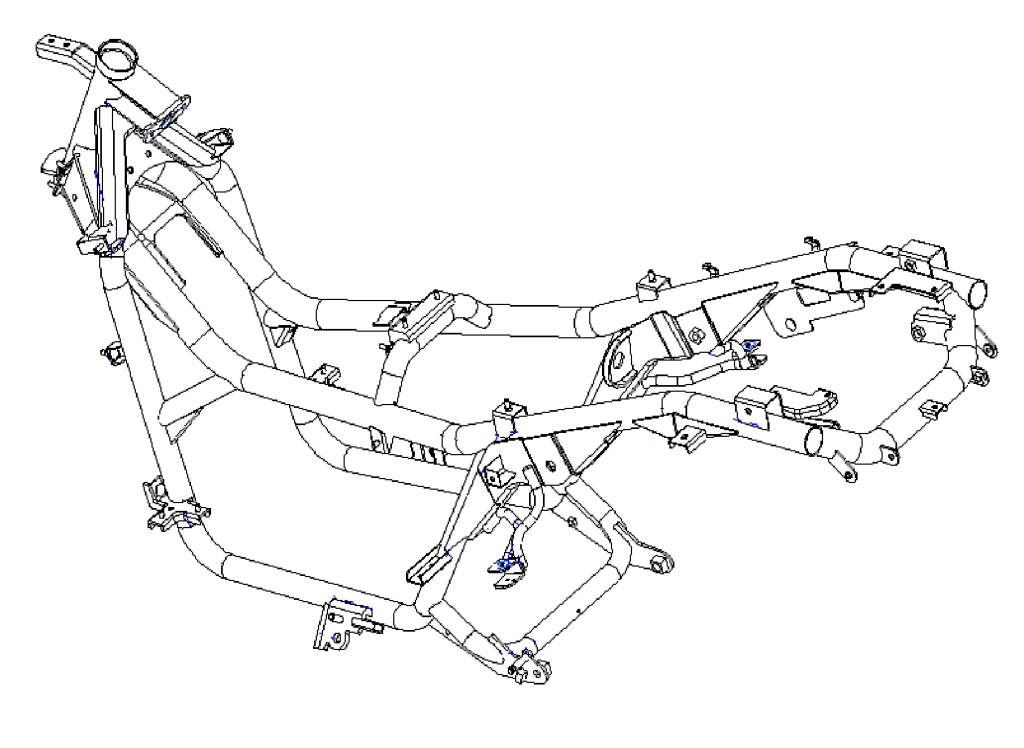 Kymco Xciting 500 2005 Motor ADN (37)