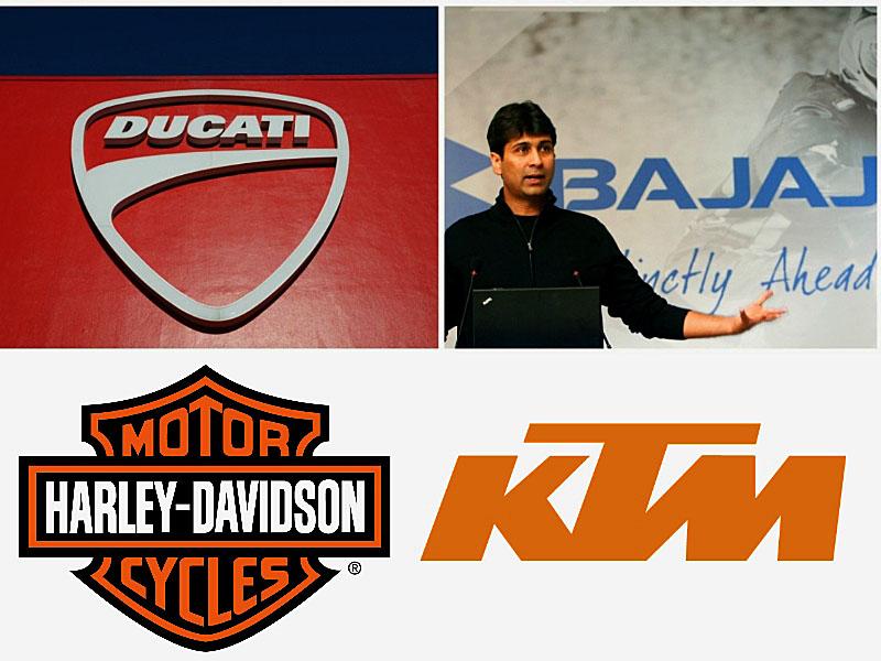 Bajaj compra Ducati… ¿o no?: Spaghetti Curry Western, por un puñado de marcas