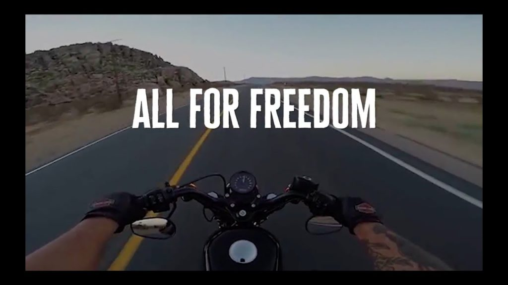 Harley Davidson All for Freedom Freedom for All