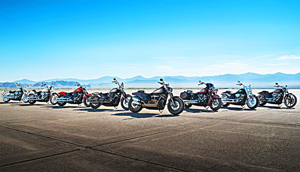 Harley Davidson 2018: 8 nuevas Softail por el 115 Aniversario