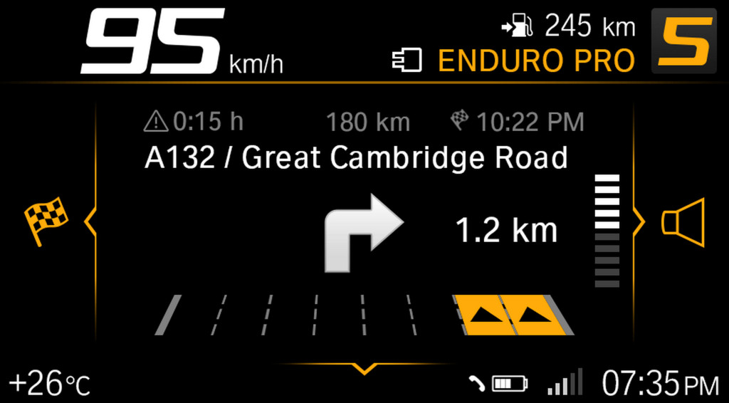 BMW ECALL y llamada de emergencia pantalla TFT (13)
