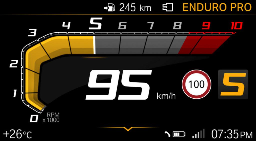 BMW ECALL y llamada de emergencia pantalla TFT (4)
