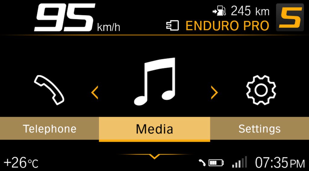 BMW ECALL y llamada de emergencia pantalla TFT (6)