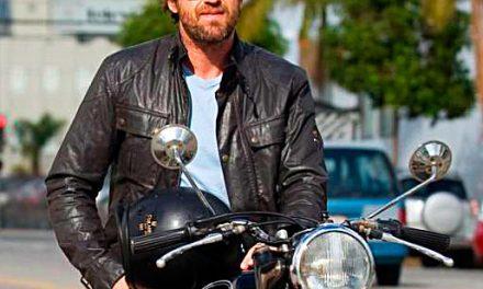 Fotos Gerard Butler accidente de moto (12 imágenes)