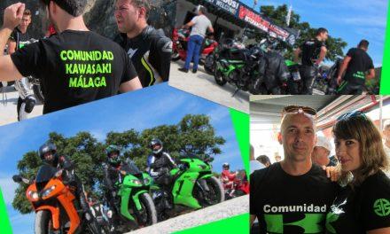 I Reunión Comunidad Kawasaki Málaga. GREENDAY EN MARBELLA