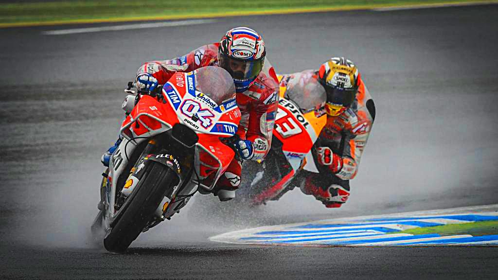 MotoGP Japón 2017 (Motegui): Acelerando bajo la lluvia
