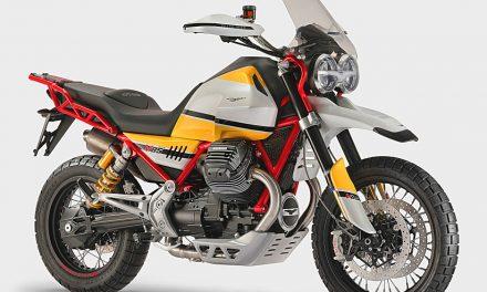 Motos 2018: Moto Guzzi V85, TRAIL AVENTURA DE DISEÑO