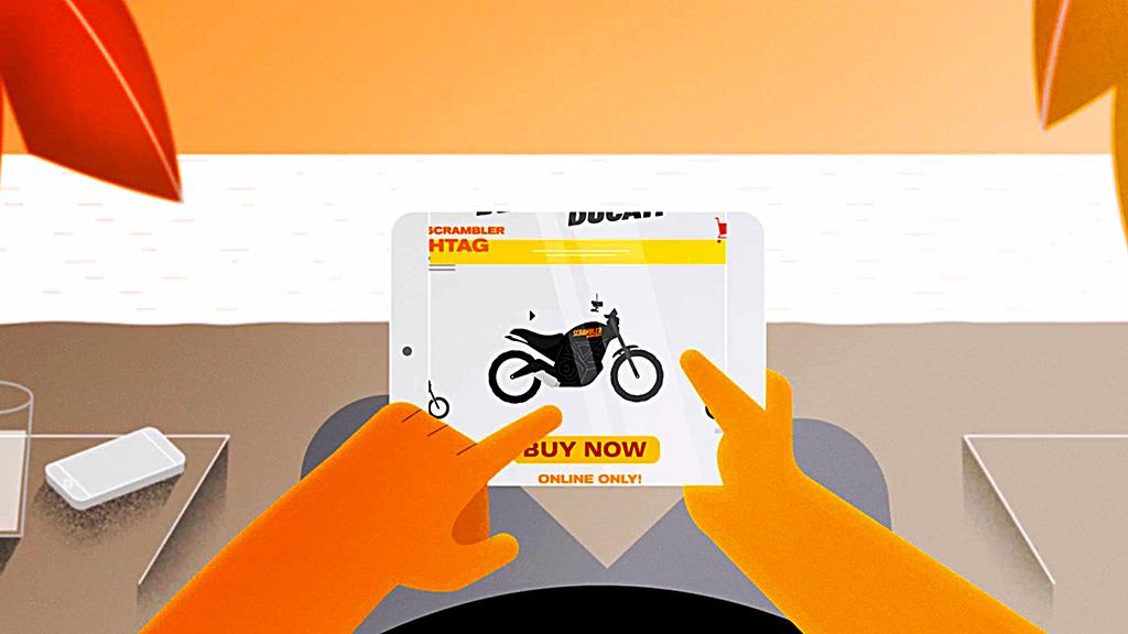 ¡La primera Ducati Scrambler online está aquí!
