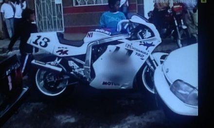 Fotos motos Pablo Escobar Suzuki GSXR 91 MotorADN (5 imágenes)