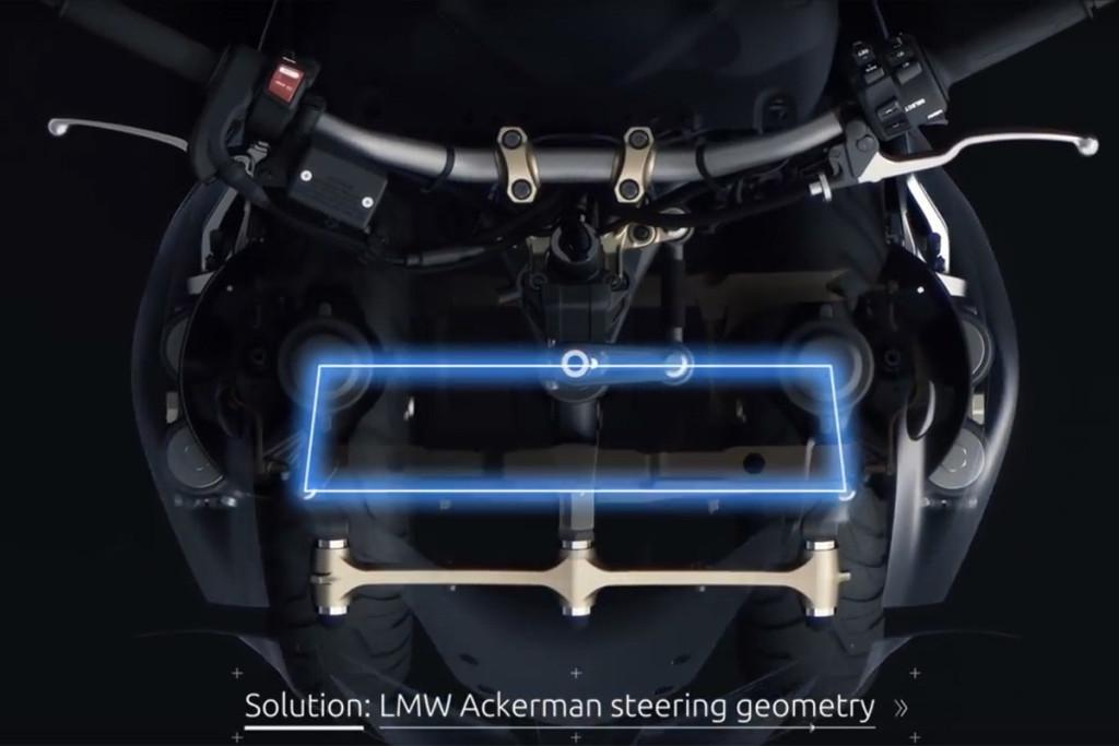 Yamaha Niken 2018 Sistema de 3 ruedas delantero. MotorADN (1)