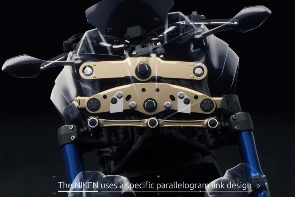 Yamaha Niken 2018 Sistema de 3 ruedas delantero. MotorADN (2)