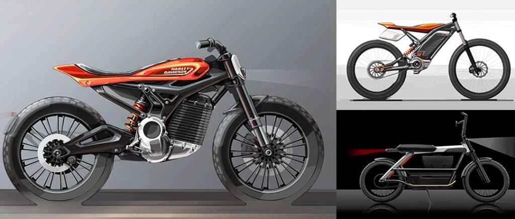 Harley LiveWire eléctrica diseño