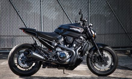 REVOLUCIÓN NUEVAS HARLEY DAVIDSON (2): Harley Streetfighter, la naked deportiva que Harley ya tuvo.