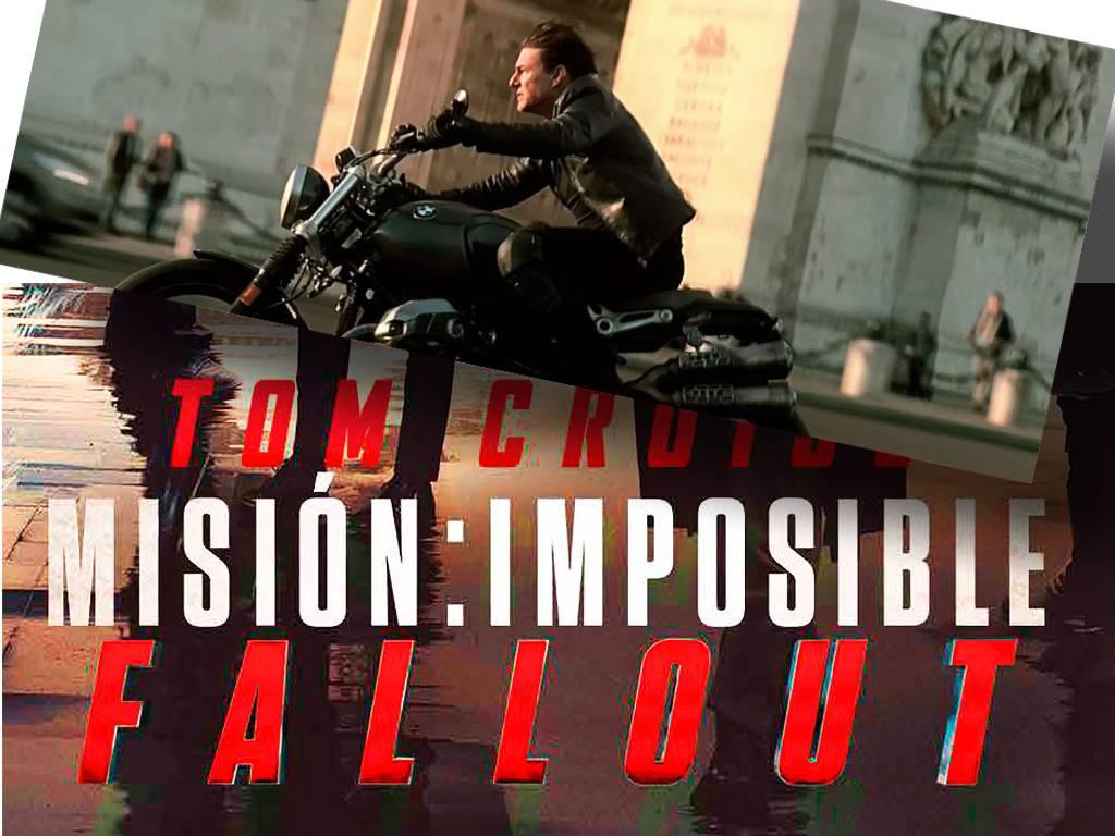 Mision Imposible Fallout 2018 entrada