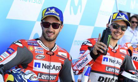 Gran Premio Aragón 2018: Parrilla de salida de color rojo