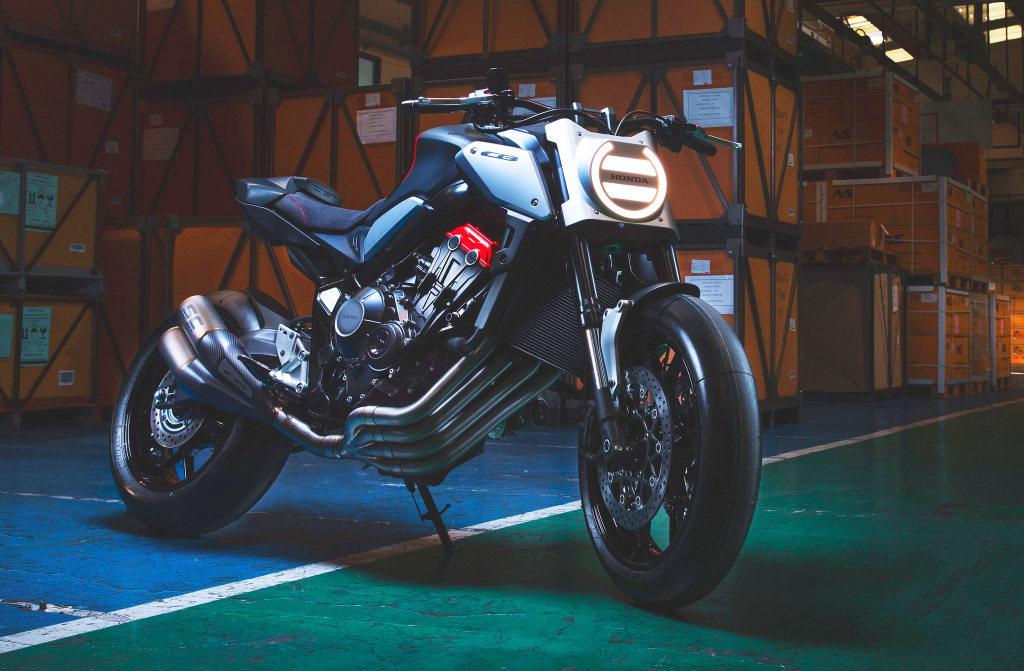 Honda Neo Sports Cafe Racer Concept. Novedades 2019 (13)