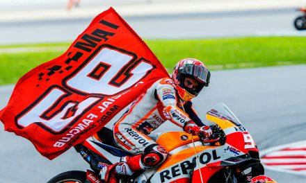 CARRERA MOTOMOTOGP MALASIA 2018: INCLUSO LA SUERTE LE SONRÍE
