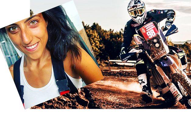 Sara García, al Dakar en la categoría más dura con Motul