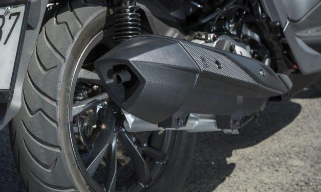 Fotos prueba SYM HD300 2019 presentación MotorADN.com