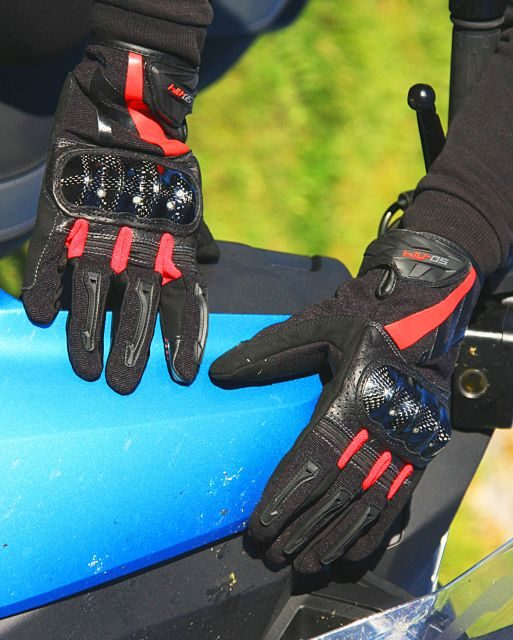 Fotos prueba guantes Seventy Degrees SD N14