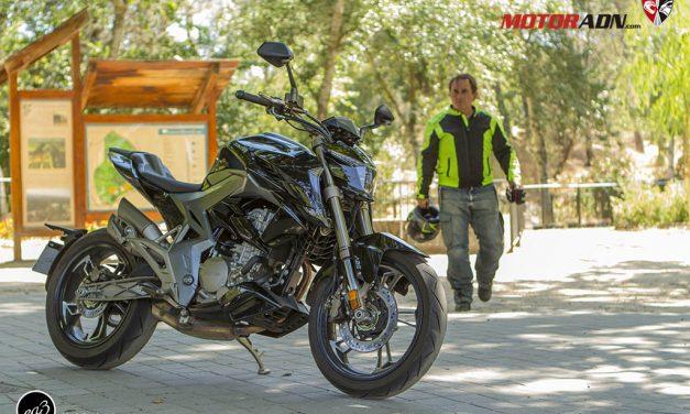 Fotos prueba Zontes R310 2019 MotorADN.com