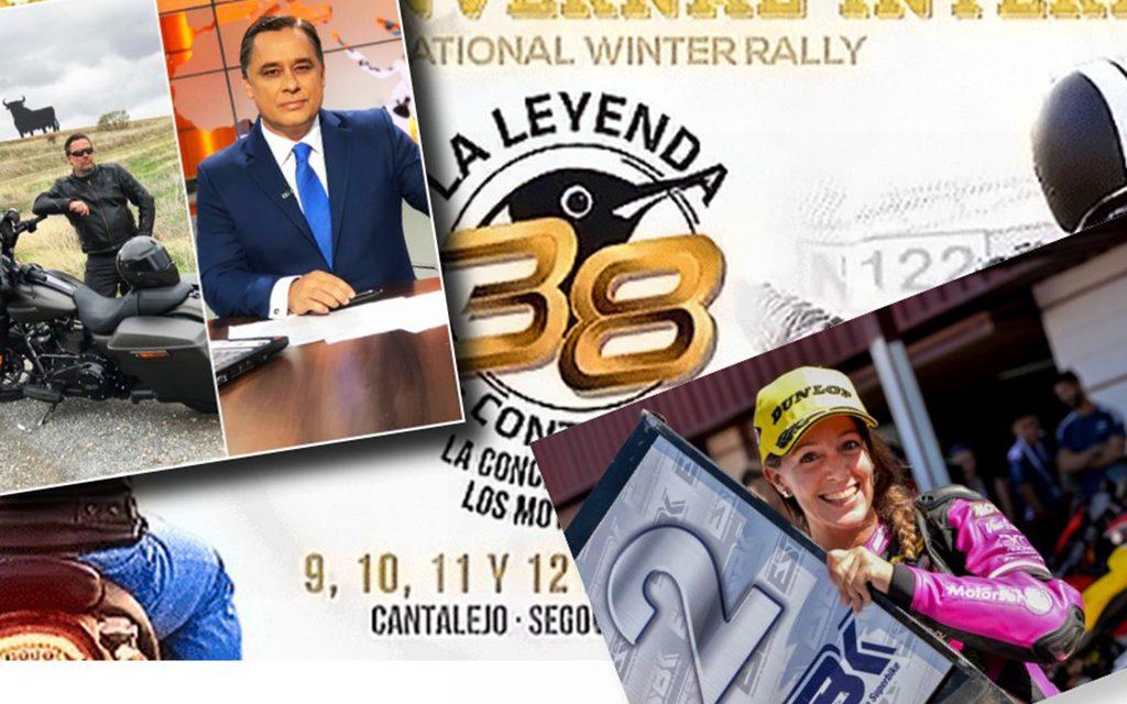 CONCENTRACIÓN LA LEYENDA CONTINÚA 2020: dos presentadores de lujo, Ramón Pradera y María Calero.