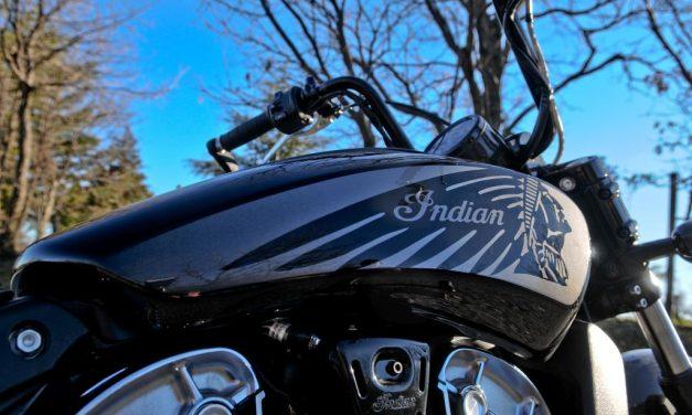 Fotos Indian Bobber Twenty 2020 prueba MotorADN.com