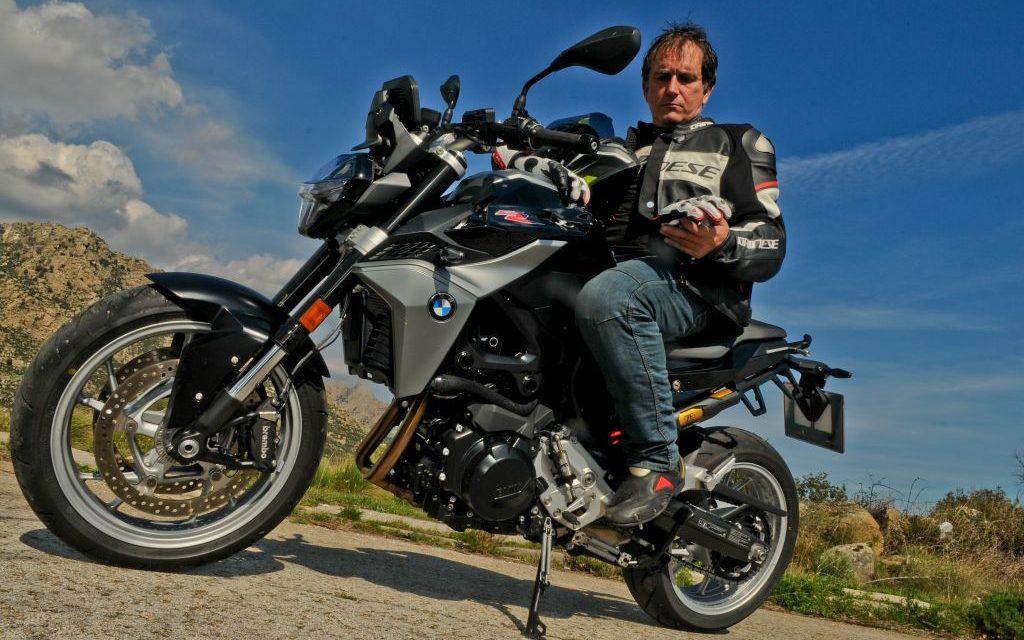 FOTOS BMW F900R 2020 prueba