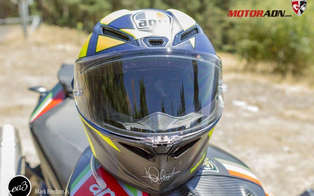 FOTOS PRUEBA CASCO AGV PISTA GP RR SOLELUNA 2020