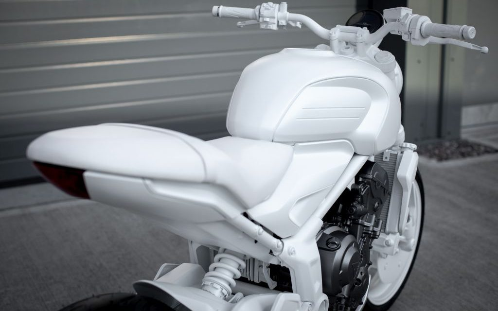 FOTOS TRIUMPH Trident 'concept design bike' 2020
