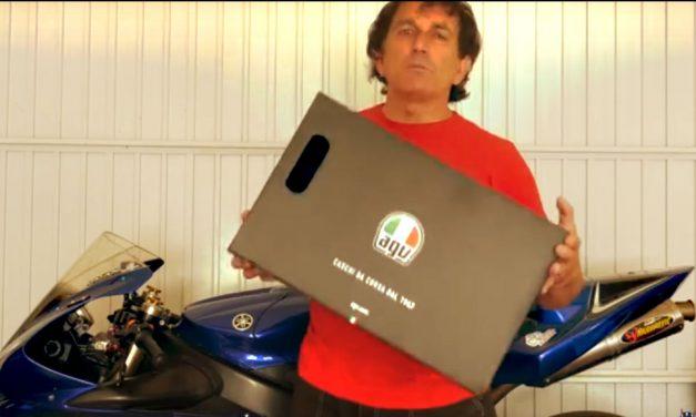 VIDEO PRUEBA CASCO AGV PISTA GPRR: PURO LUJO