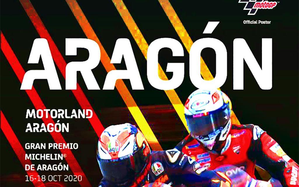 HORARIOS MOTOGP 2020. GP DE ARAGÓN, MOTORLAND