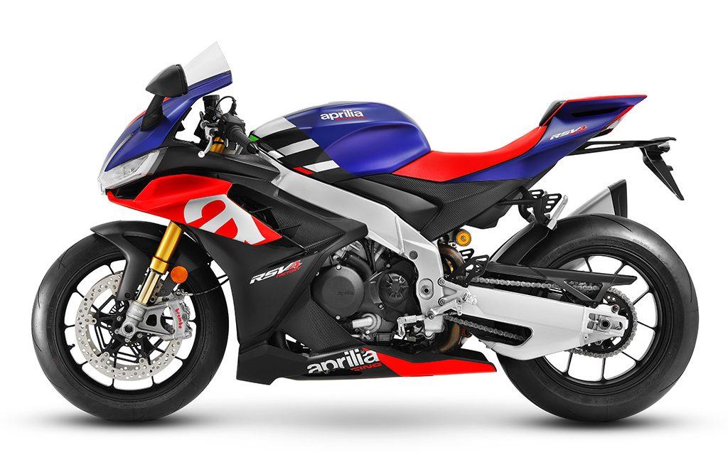 MOTOS 2021: APRILIA RSV4+FACTORY 1100¡MAS CILINDRADA!
