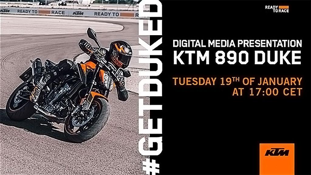 MOTOS 2021: ¿TE VIENES A LA PRESENTACIÓN DE LA KTM DUKE 890?