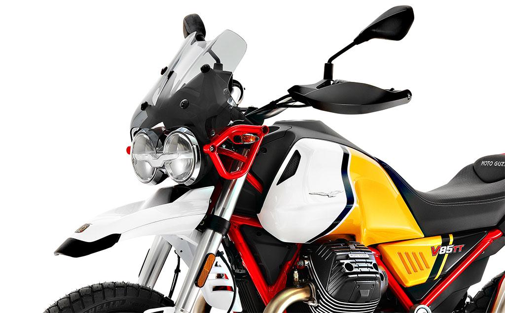 MOTOS 2021: LA MOTO GUZZI V85 TT MEJORA