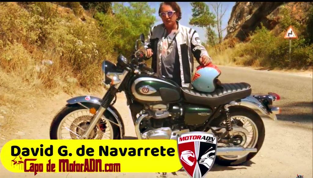 VIDEOPRUEBA KAWASAKI W800 STREET ¡QUE BONITAS SON LAS MOTOS RETRO!