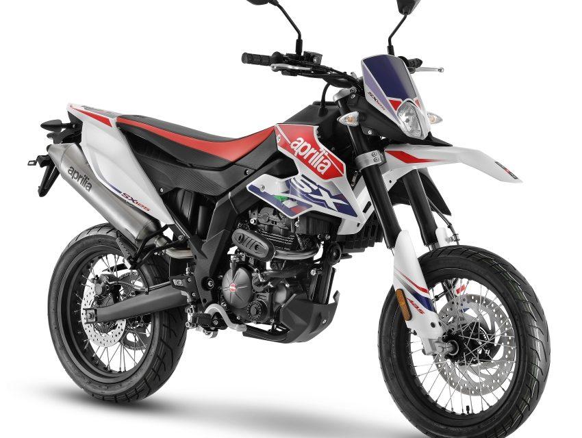 NUEVAS APRILIA SX+RX 125 2021: DIVERSION EN MOTO CON CARNET DE COCHE