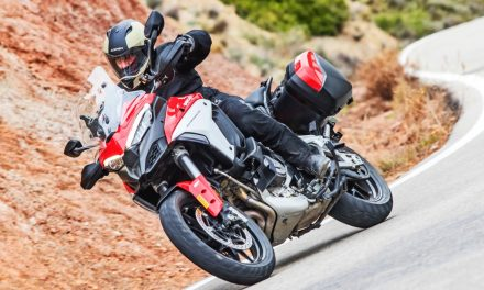 Prueba Ducati Multistrada V4: La presentación