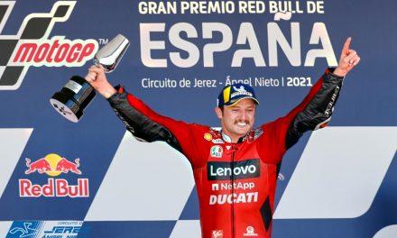 MOTOGP 2021: GP ESPAÑA, JEREZ. MILLER Y LA SEGUNDA DE DUCATI