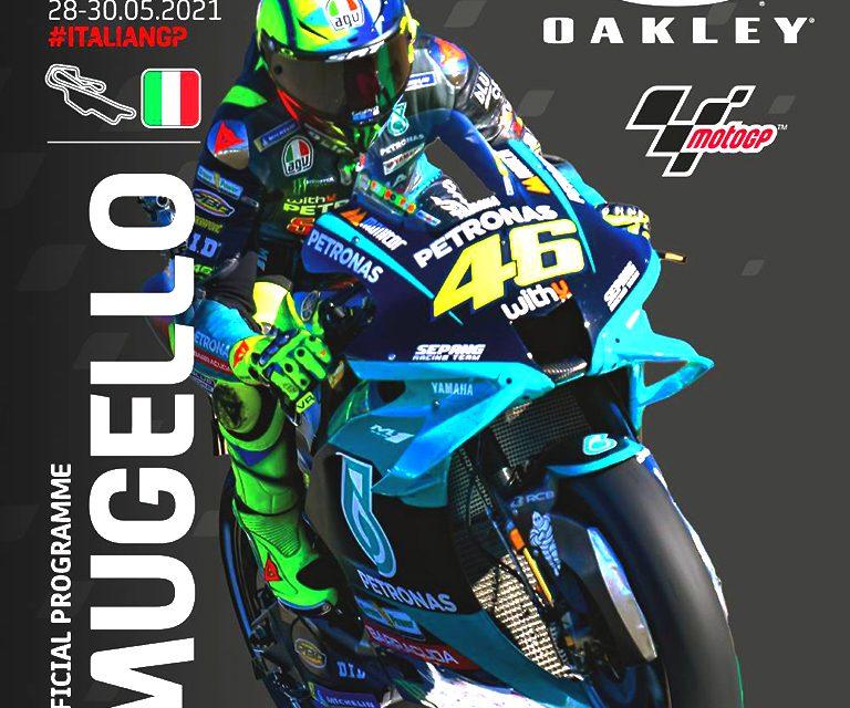6º MOTOGP 2021 GP ITALIA, MUGELLO: HORARIO.