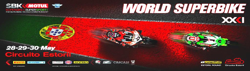 2º MUNDIAL SUPERBIKES WORLDSBK 2021 ESTORIL: HORARIO.